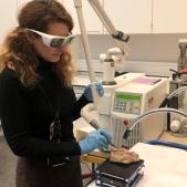 Erbium YAG laser cleaning of terracottas